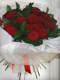 30 - 50 Red Roses
