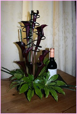 Modern Black Arrangement Gift