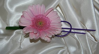 Contemporary Gerbera buttonhole
