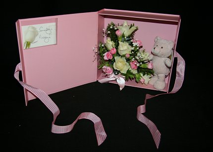 Baby Girl Keepsake Box, click here for larger image