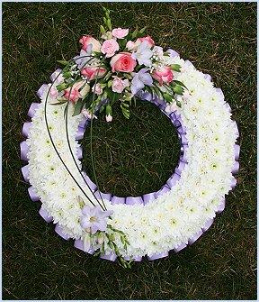 """Round Open Wreath 16"""""""