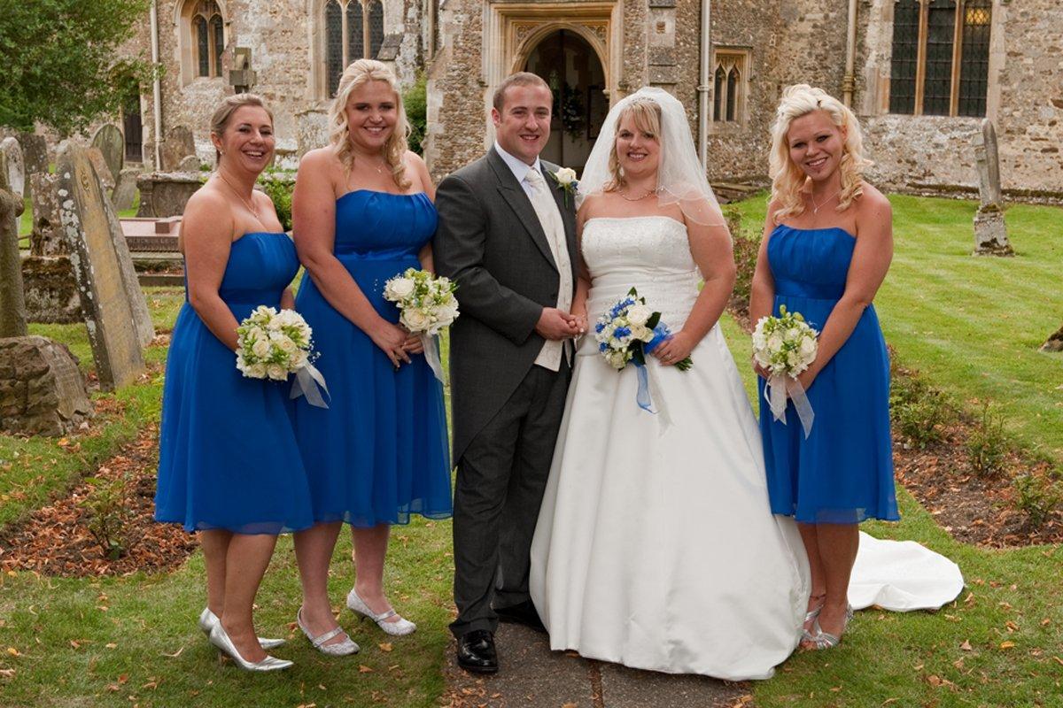 Karen Airey Wedding, Gransden, August 2011