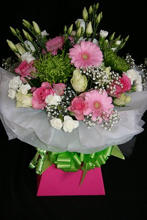 Pink Posy Gift bouquet