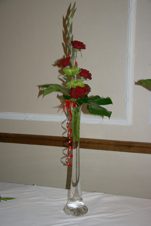 Contemporary wedding flowers