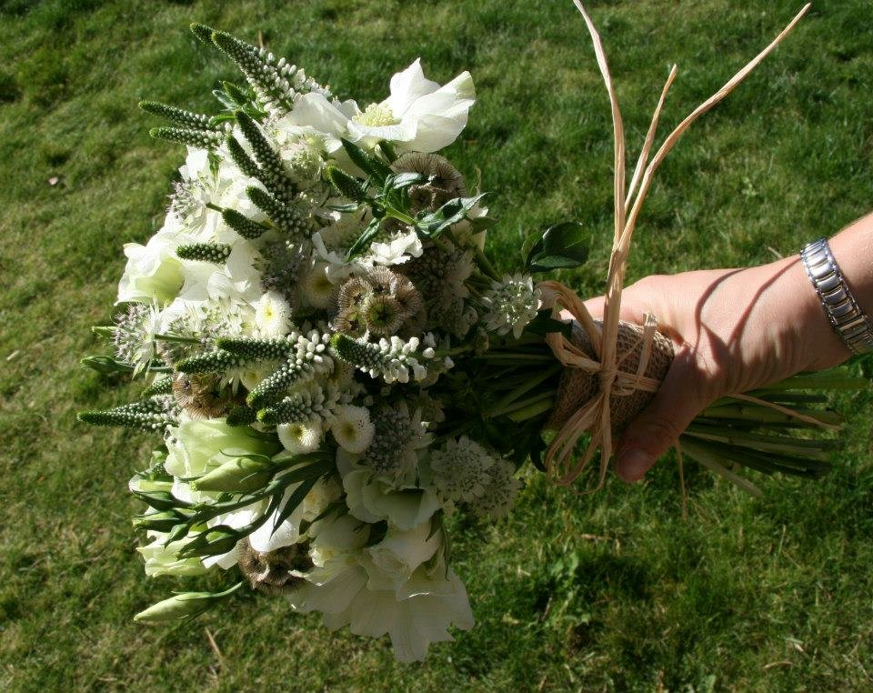 Country style bridesmaid bouquet